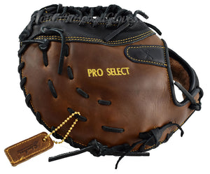"back view on the Pro Select 13"" Tennessee Trapper First Base Mitt"