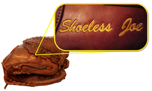 Personalize your new glove with custom emboidery