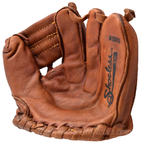 Shoeless Joe Gloves Mini Display glove Palm view