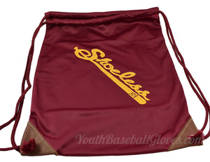 Shoeless Joe Gloves Embroidered Logo Tote Bag