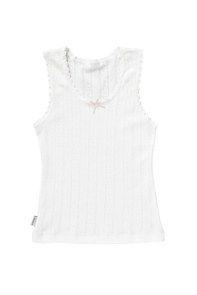 Jockey Girls Sweetheart Cotton Singlet