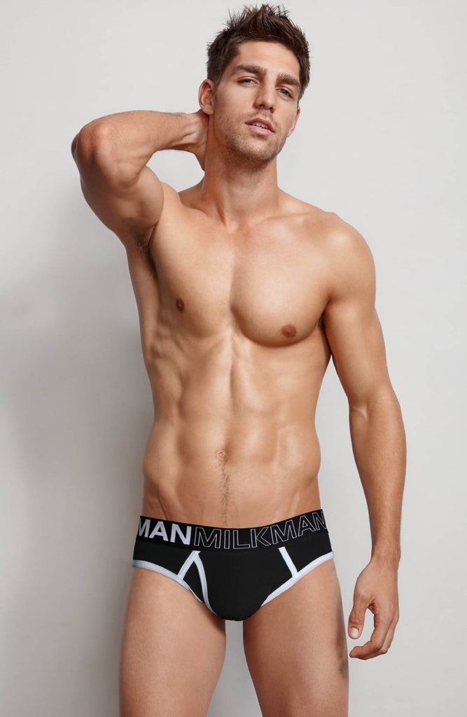 Monochrome Brief Black