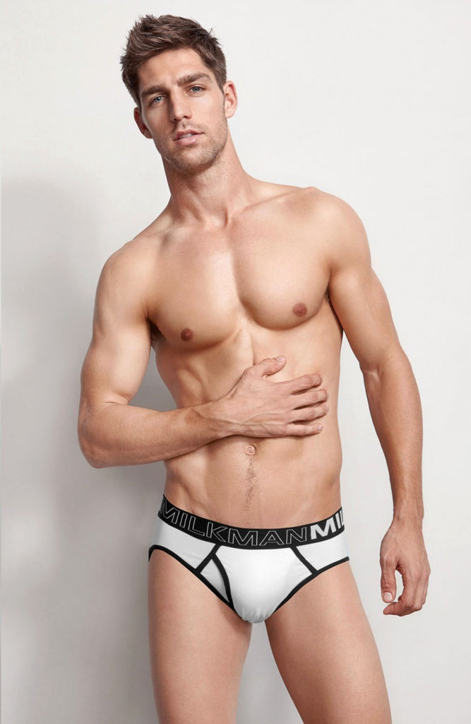 Monochrome Brief White