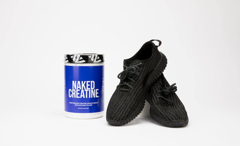 Naked Creatine with gym shoes - product image