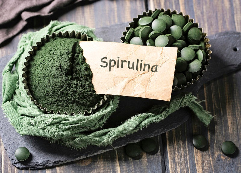 spirulina tablets and powder health benefits