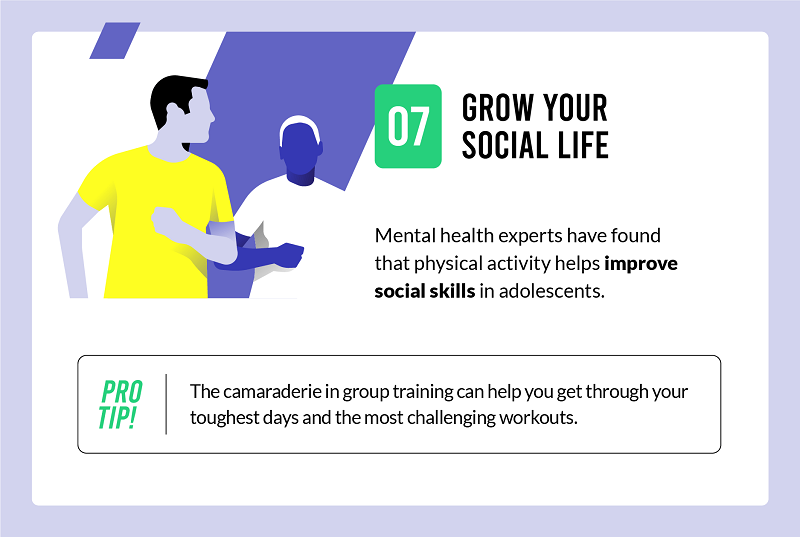 exercise can help grow your social life