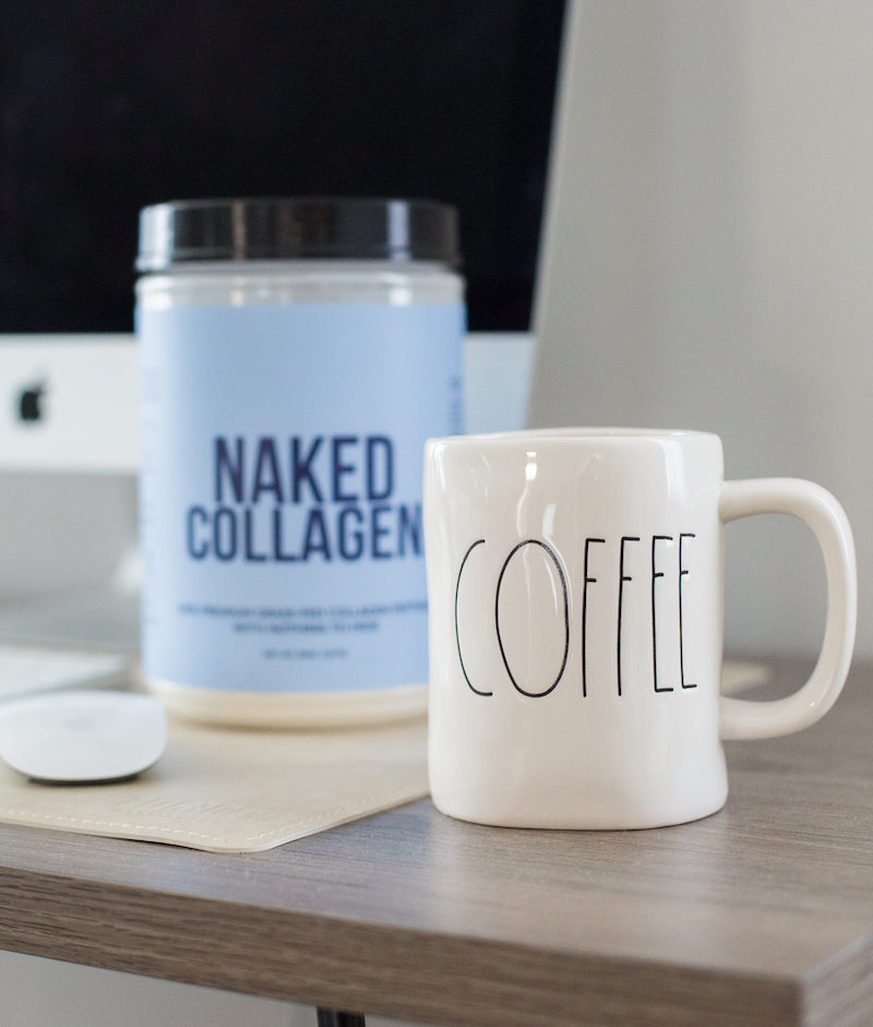 collagen peptides and coffee