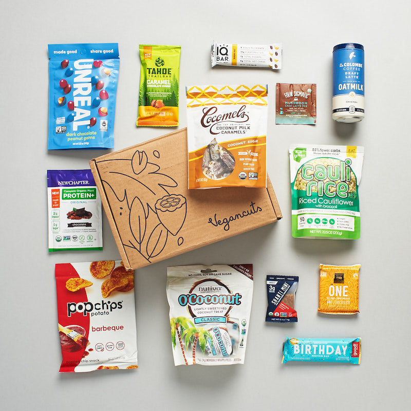 Vegan Cuts snack box example image