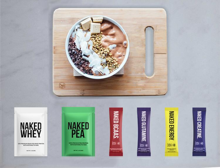 Naked Nutrition Samples