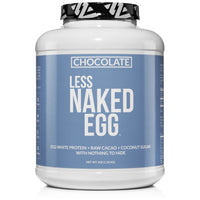 Chocolate Egg White Protein Powder | Less Naked Chocolate Egg - 3LB