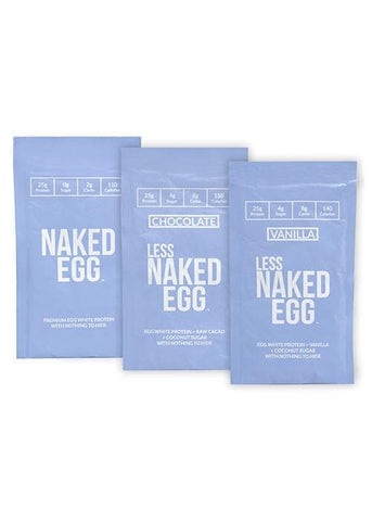 Egg White Protein Powder Sample Pack