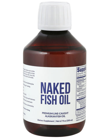 Paleo Omega-3 Fish Oil | Naked Fish Oil 6oz