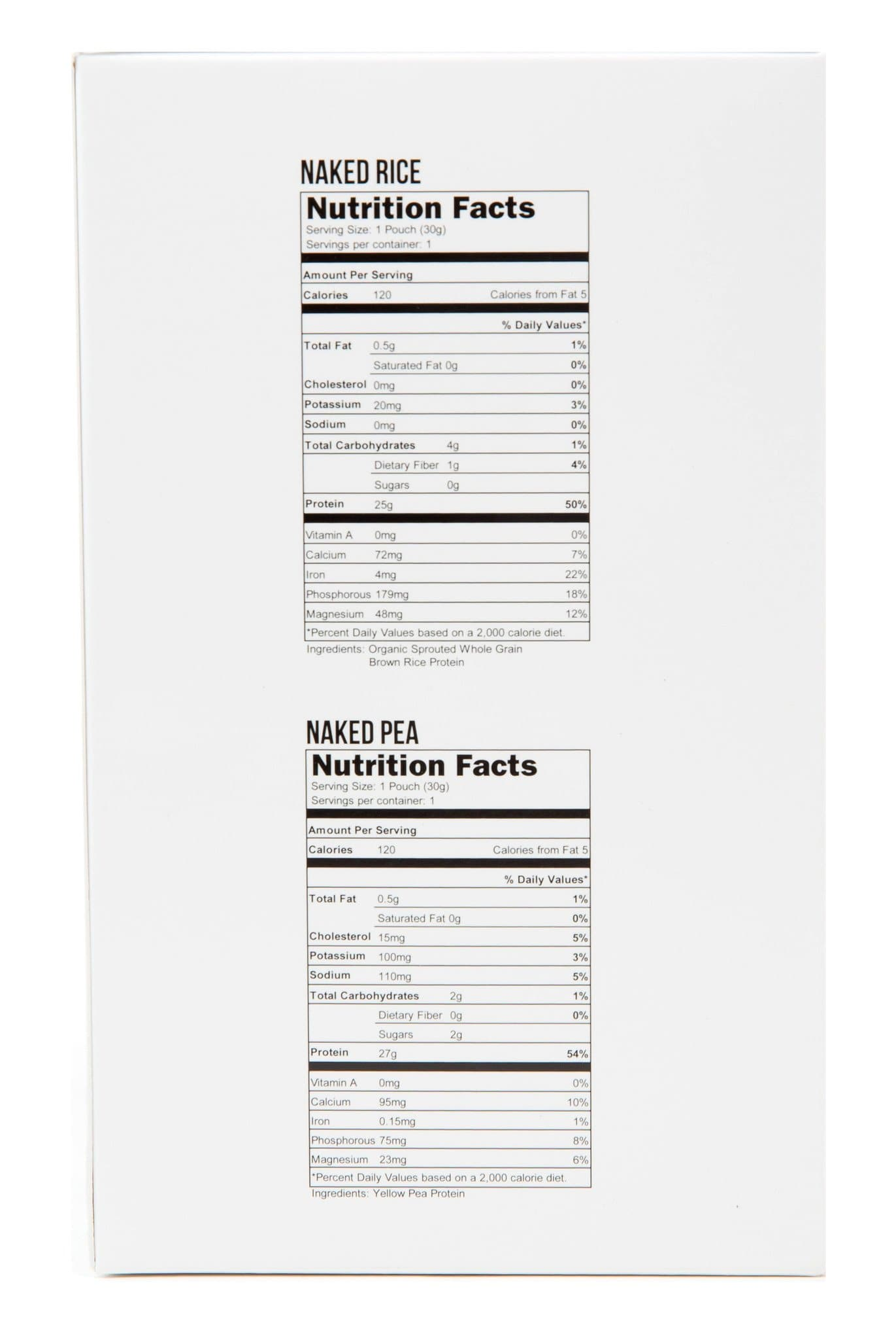 Variety Protein Powder Sample Pack Naked Nutrition