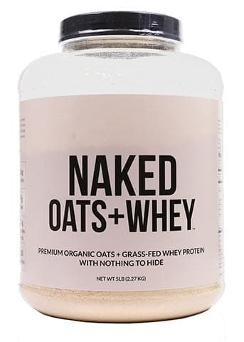 Organic Oats + Grass Fed Whey Protein | Naked Oats - 5lb