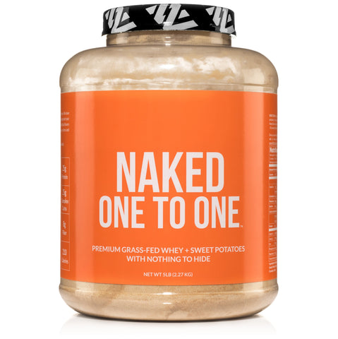Sweet Potato Powder + Grass Fed Whey Protein | Naked One to One - 5lb