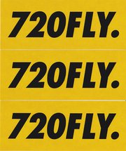 720 Decals (3 Pack)