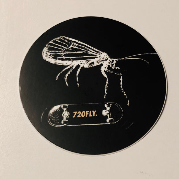 Skater Caddis decal