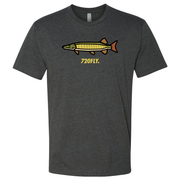 720Fly fly fishing t-shirt musky