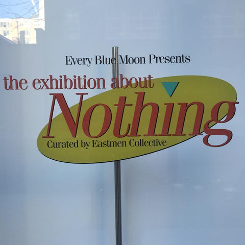 The Exhibit About Nothing Nyc Sue Tsai
