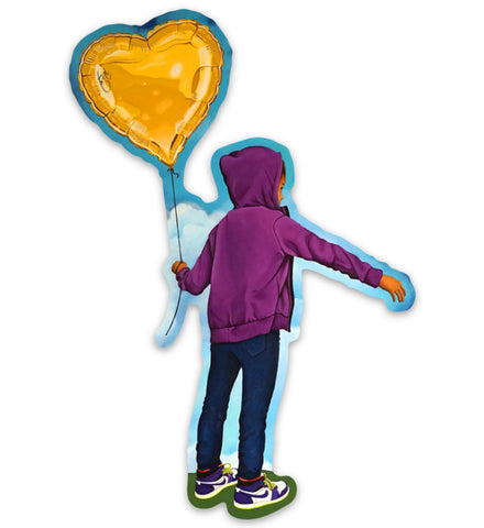 Heart Chrysalis - Sticker