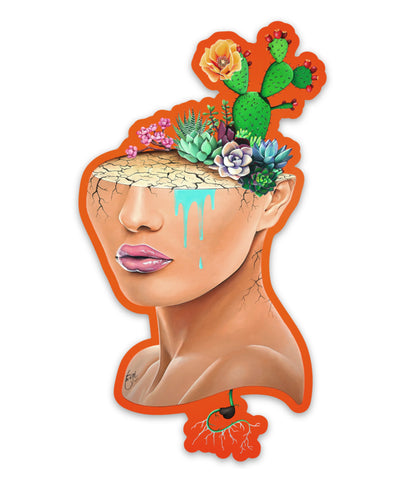 Flower Bomb - Sticker