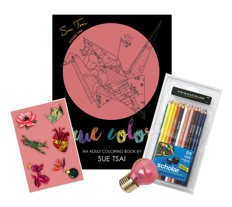 True Colors - Coloring Book Gift Set
