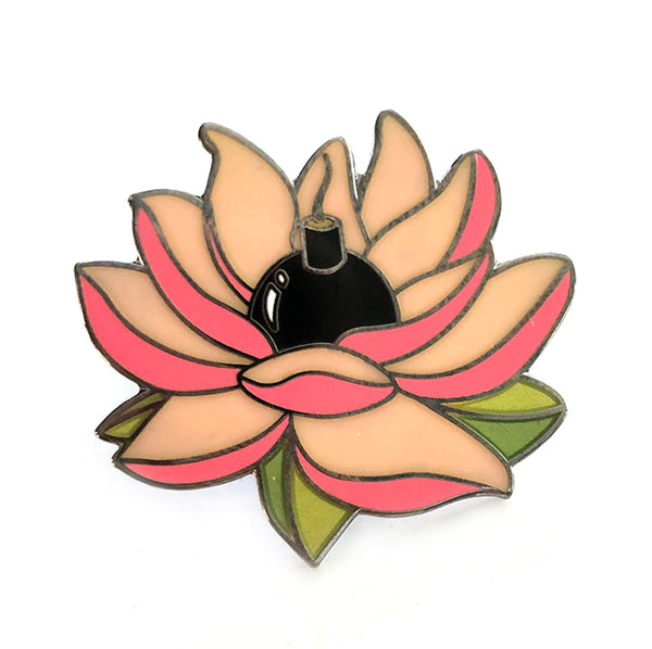Flower Bomb Pin Sue Tsai