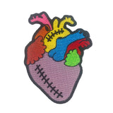 Colorblock Heart - Patch