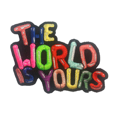 World Is Yours - Patch