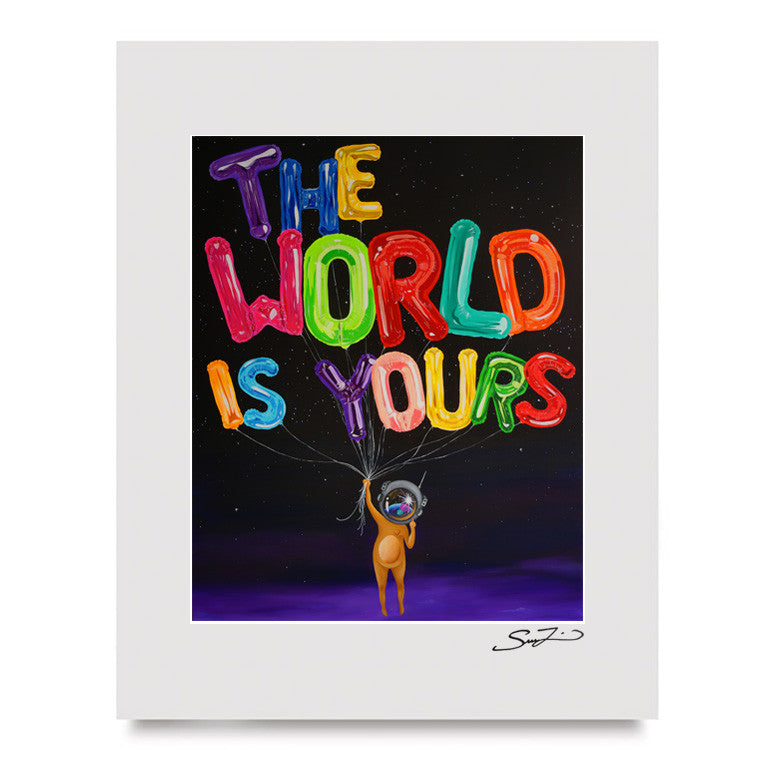 World is Yours - Mini Print