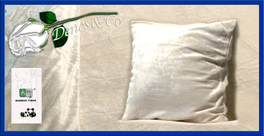 Knitted Bamboo Velour Pillow Sham