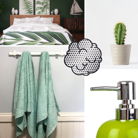 Colour Therapy Green Relaxing Sleep