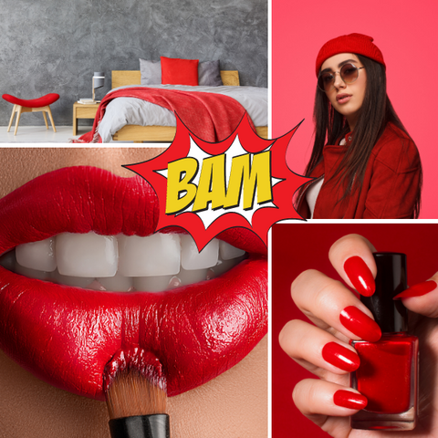 Colour Therapy Red Confidence Bold