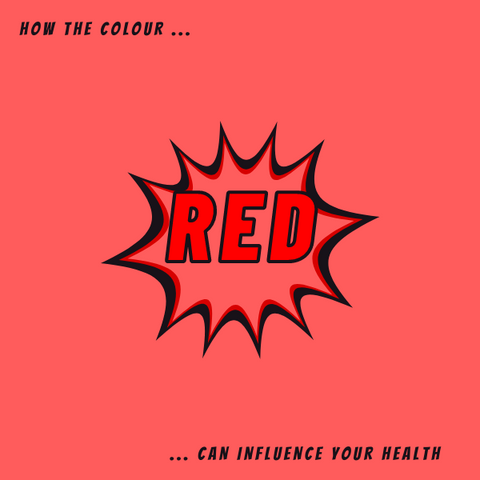 Colour Therapy Red Meaning