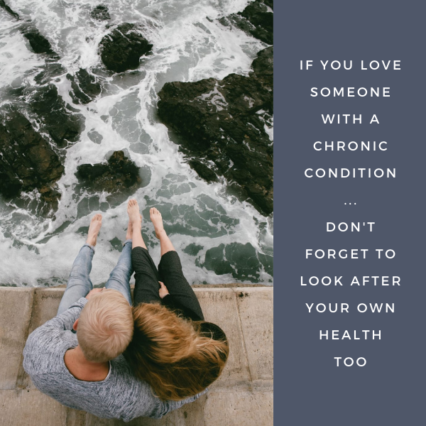 Look after your health if partner has condition