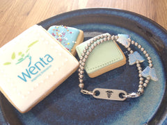 My Bugle Medical alert bracelets, ID and sentimental jewellery - Wenta WAB programme