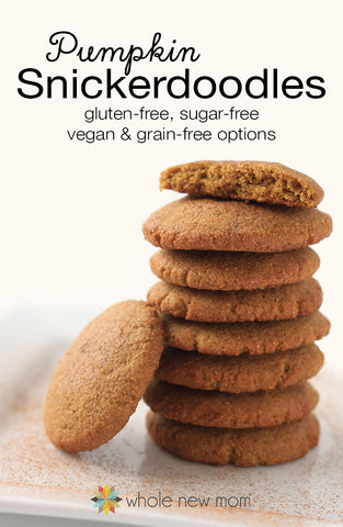 Pumpkin Snickerdoodles - Whole New Mom
