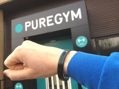 Silicone wristband - with my Pure Gym membership code