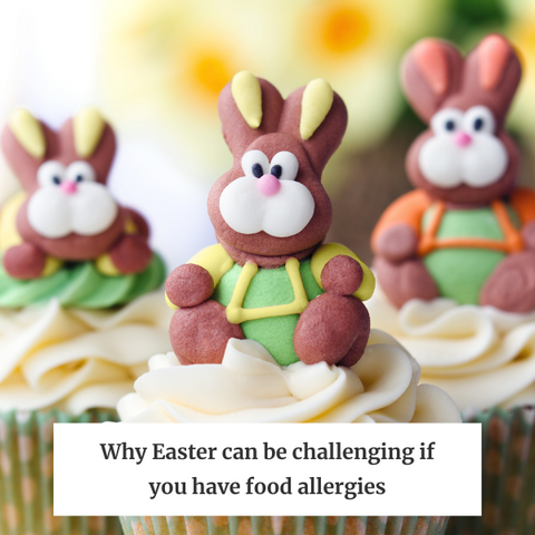 Why Easter is challenging for anyone with food allergies