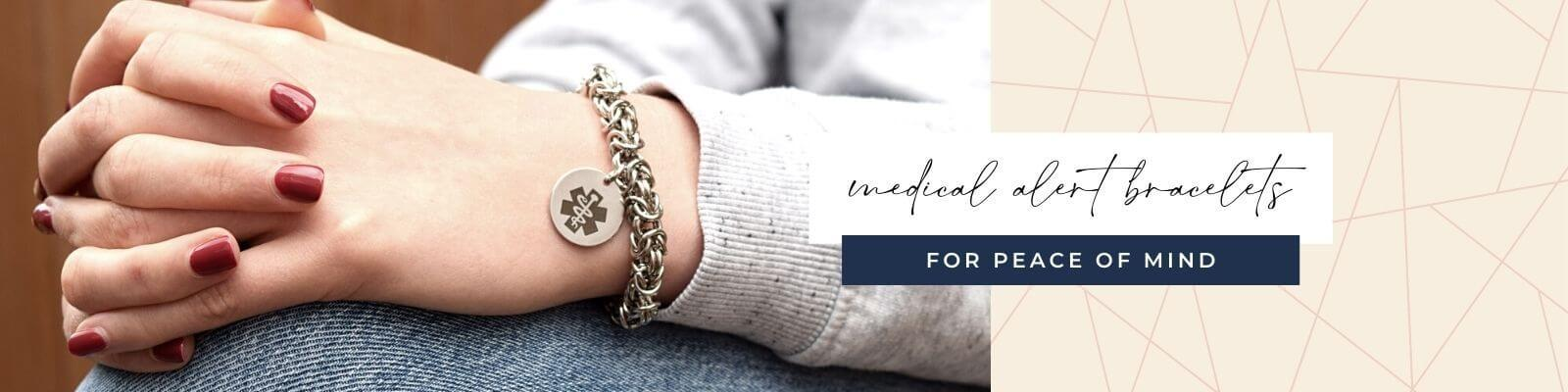 Medical ID bracelets that fit your style