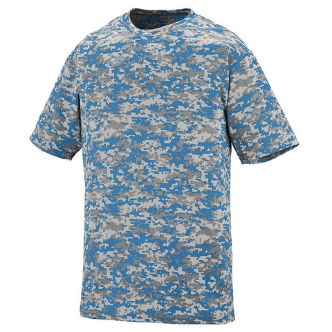 Digi Camo 2 Button Wicking Jersey