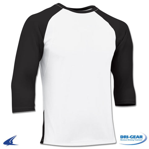 COMPLETE GAME 3/4 SLEEVE BASEBALL SHIRT