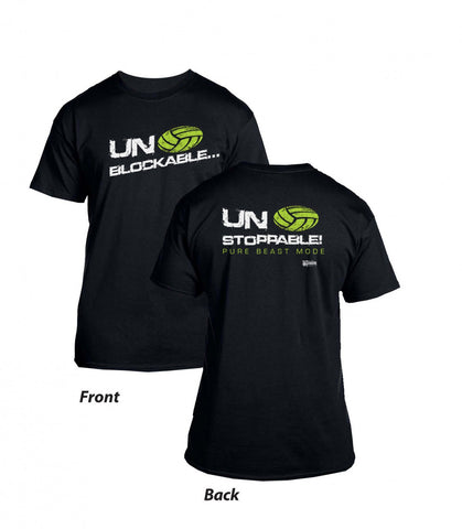 Unblockable - Black T-Shirt