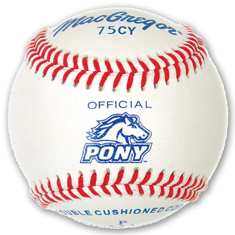 #75CY Official Pony League Baseball -Yth