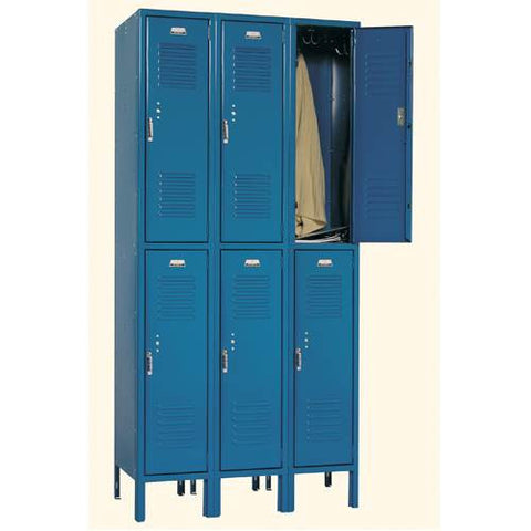 Double Tier Locker -3 Wide - 6 Openings