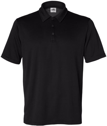 Men's Mini Thermal Short Sleeve Polo