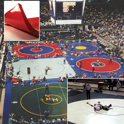 Collegiate Wrestling Mat - 1in Thick