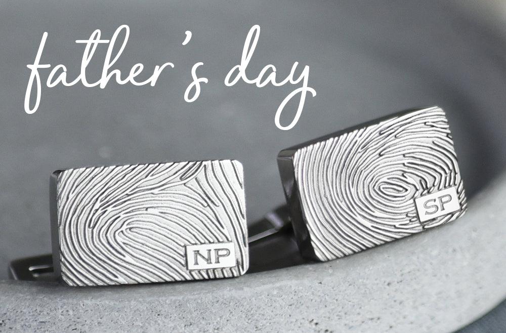 Fingerprint Jewellery for Fathers Day