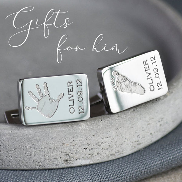 Fingerprint Jewellery - the perfect gift for men this Christmas