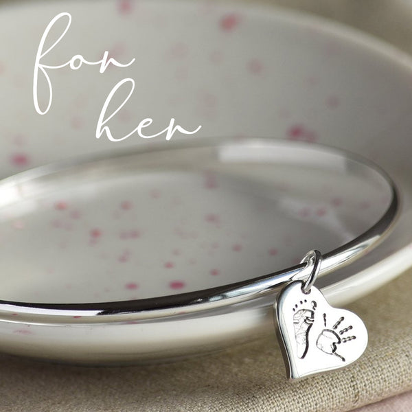 MAKE HER SMILE THIS XMAS WITH FINGERPRINT JEWELLERY